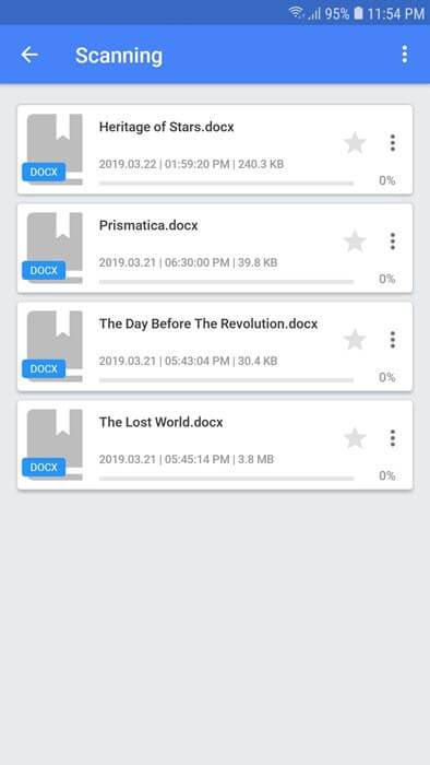 Reading DOCX files on Android with FullReader